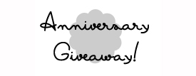 3 Year Anniversary GIVEAWAY!